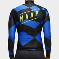 Wholesale HombreMAAPSummer Cycling Jersey Long Sleeve Cycle Jackets Pantalones Bicycle Wear Bike Clothing MTB Maillot Ciclismo
