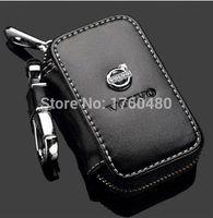 Wholesale GIFT For Volvo XC60 XC90 S40 C30 C80 S60 V40 V60 car leather car key wallet key case key bag key holder