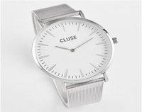 Wholesale 2016 Casual Quartz Watch Men Women Top Brand Cluse Stainless Steel Watches Relojes Hombre Horloge Orologio Uomo Montre Homme sport watch