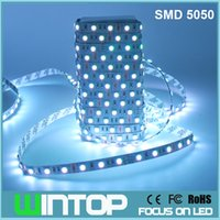 Holiday SMD 5050 No 5M 300LEDs DC12V SMD5050 LED Strip Light Non-Waterproof Flexible Tape 60leds m RGB White Warm White Red Green Blue