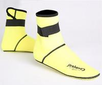 beach snorkeling - Neoprene Socks long Beach Non slip Antiskid Snorkeling Scuba Diving Socks Boots Fins Flippers Wetsuit Seaside Shoes HW144 S016