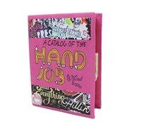 banquet books - Europe Picture Banquet Clutch Handbag Fashion Cartoon Book Bag Clip Women Small Dinner Bag X23X3 CM HB063