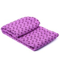 Wholesale Hot Sports Equipment Durable Microfiber Non slip Washable Sport Fitness Travel Exercise Yoga Mat Towel