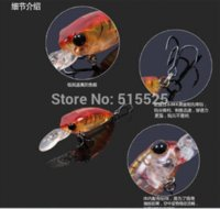 Wholesale 2015 New Design Trulinoya Fishing Lure Crank Bait Fishing Bait Mix Color mm g watch