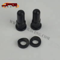 Wholesale 1 Set MX Rim Lock Covers Nuts Washers Security Bolts Motorcycle Pit Dirt Bike Motocross Enduro Racing Black