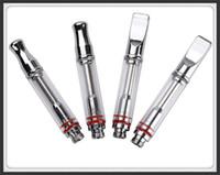 Cheap pure glass metal drip tip wax oil cbd oil concentrate atomizer vaporizer tank 510 mini micro touch vape pen cartridges a3 2016