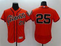 arrival san francisco - 2016 New Arrivals Hot MLB San Francisco Giants Bonds Majestic Orange Flexbase Collection MLB Baseball Jerseys