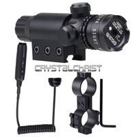 airsoft gun brands - 2015 new Green laser sight scope brand hunting Adjustable outside airsoft rifle scope riflescope hunting Gun Rifle
