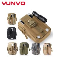 backpack belt pouch - Tactical Molle Pouch Belt Waist Pack Bag Pocket Military Waist Fanny Pack Phone cases Pocket for Samsung Galaxy S5 Meizu Pro