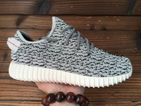 Wholesale 2016 Adidas Original Yeezy Boost Pirate Black Moonrock Oxford Tan Running Shoes Sneakers with Box Women Men Training Boots