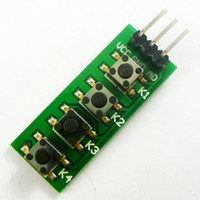 avr adc - 3 V V KC11B04 key Analog Buttons AD Keypad Board ADC port keyboard for Arduino UNO MEGA2560 DUE ARM AVR PIC
