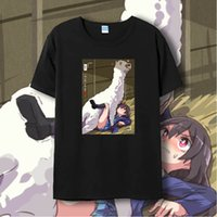 Cheap New Arrival Love Live Lovelive Yazawa Nico Grass Mud Horse Funny Print Short Sleeve Cosplay T shirt Plus Size T-shirts Unisex Tops XXXL