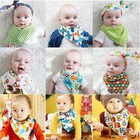 bandana clothing patterns - 20 Pattern Children s Big Size Newborn Baby Infant Cartoon Printed Bandana Kids Baberos Bebes Girls Boys Burp Clothing Bibs