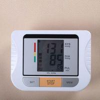 Wholesale Blood pressure measuring instrument LCD Blood Pressure Monitor Heart Beat Meter Machine Gauge