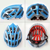 Wholesale 2016 new Mountain Riding Bike Safety Cycling Helmet Ultralight Bicycle Helmet Road Mountain Helmet Mountain Road Bike Bicycle Helmet
