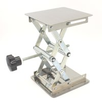 Wholesale 4 quot Lab Lift Lifting Platforms Stand Rack Scissor Lab Lifting Stainless steel