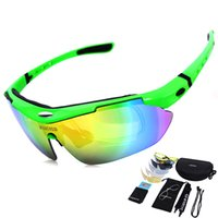 Wholesale Polarized Sports Men UV400 Sunglasses Road Cycling Glasses Mountain Bike Bicycle Riding Protection Goggles Eyewear Lens True Revo Colors