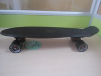 penny boards - 22 quot mini fish board cruiser skateborad banana style longboard Cool Look Penny style Skate board