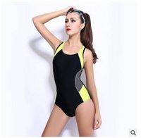 Cheap one piece swimming suit women swimsuits Siamese skirt belt splicing conservative bikini padded push up Swimwear bathing suits DHL freeship