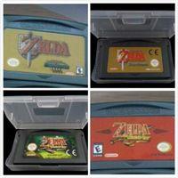achat en gros de marque zelda-Brand New 100% enregistrer le fichier Etats-Unis Version EU Jeux vidéo Legend of Zelda: The Minish Cap Un lien vers les quatre dernières épées