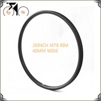 Wholesale 26er High mould carbon mtb bike rim Downhill Tubeless TLR mm width Plus Carbon MTB Light Bicycle Rims