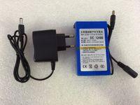 12v battery - 12V mAh DC power Rechargeable Li ion battery For CCTV Camera V mAH Li ion Battery