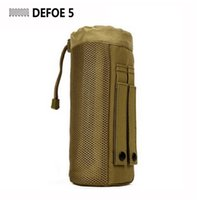 Wholesale MOLLE system water bottle D ring holder drawstring pouch purse Army Durable Nylon Equipment