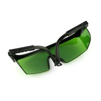 Wholesale New nm Eye Protection Anti Laser Green Red Lens Green lens Glasses Laser pointer pen use Goggles High Quality