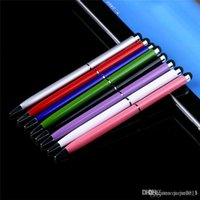 Wholesale High Sensitive in Capacitive Touch Stylus Pen with Gel ink Ballpoint Pen for Smart Android Phone Tablet PC