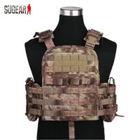 Wholesale Tactical Combat CP Style Vest Outdoor Hunting Wargame Paintball Protective Plate Carrier Waistcoat Airsoft Professional Clothes