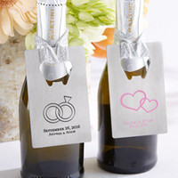 Wholesale personalized metal silver gold bottle opener wedding party bridal souvenir favor gifts