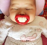 Wholesale Baby Infant Toddler Feeding silicone Rabbit Tooth Whimsy Feeder Kids Nipple Feeding Safe Nipple Pacifier T7033