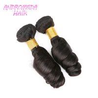 Wholesale Baby Feels Human Hair Extensions Grade A Peruvian Brazilian Hair Loose Weaves pc Bundles