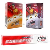 Wholesale x DHS star star star mm Table Tennis Balls for PingPong