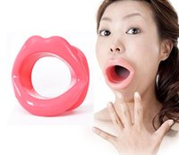 Wholesale Sexy Lips Oral Sex Open Fixation Mouth Stuffed Enhancers Sex Toys Medical Silicone Materail for Couple