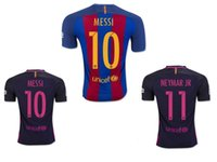 barcelona player - DHL EMS Player version Barcelona High quality players t shirts BARTRA BUSQUETS ARDA Messi Jersey shirt