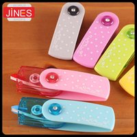 Wholesale 5 Creative Cartoon Push Correction Tape with Cute Lace Modified Stationery School Office Supplies Creative Papelaria