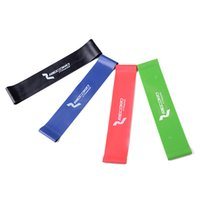 Wholesale 4pcs Resistance Band Levels Available Latex Gym Strength Training Rubber Bands Fitness CrossFit Equipment