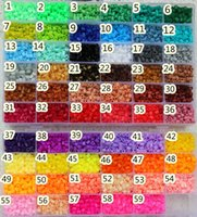 Wholesale mm hama beads perler fuse beads colours iron beads kids DIY handmade toys Gifts