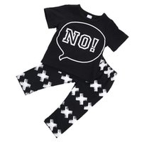 Wholesale 2016 Cute Infant Baby Boy Girl t Shirt Pant Outfit Clothes Set