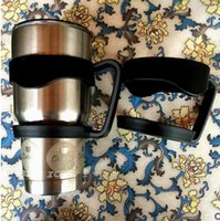 Wholesale 30oz Rambler Tumbler Cup Handles YETI Coolers YETI Cups Colorful Handles Black Blue Pink for Choice
