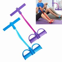 Wholesale 5 Colors Yoga Rope Pedal Arm Pull Legs Cable Machine Pedal Pedal Cable Drop Shipping