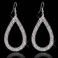 big jewelry stores - Jewellery Stores Top Quality Selling Fashion Design Big Crystal Drop Earings For Women Bridal Brand Jewelry M11