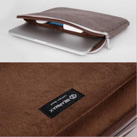 iNew apple notebook sleeve - GEARMAX Zipper Liner Laptop Cases Apple Macbook pro Air Sleeve inch Notebook Bags Super Soft Flock inside Protective Shell