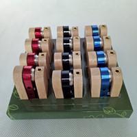 wooden smoking pipe - Folding Wooden Pipe Foldable Wood Pipe Metal Smoking Pipe Similar as Monkey Pipe Hand Tobacco Cigarette Pipe Portable Vaporizer