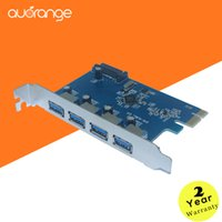 Wholesale PCI Express Controller Card Adapter auorange Port SuperSpeed Expansion Card Adapter USB
