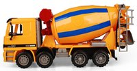 abs mixer - New Design Concrete Mixer Car Model ABS Plastic Transport Vehicle Model Toy As gift for Boy Children