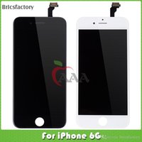 apple mobile phone service - china mobile phone LCD For iphone P display touch screen with good services and White and Black color