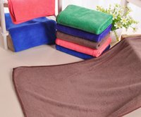 bamboo rayon bath towel - 20PCS High Quality Microfiber Cleaning Towel Car Washing Nano Cloth Dishcloth Bathroom Clean Towels Rectangle x70cm