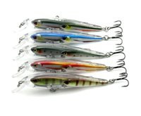 abs dimensions - 5PCS Minnow Fishing Lure g cm Dimension Group Fishes bionic Bass Bait Wobbler Lifelike fishes ABS Hard Lures ABS Leurre Peche m